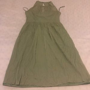 J crew dress green size 8